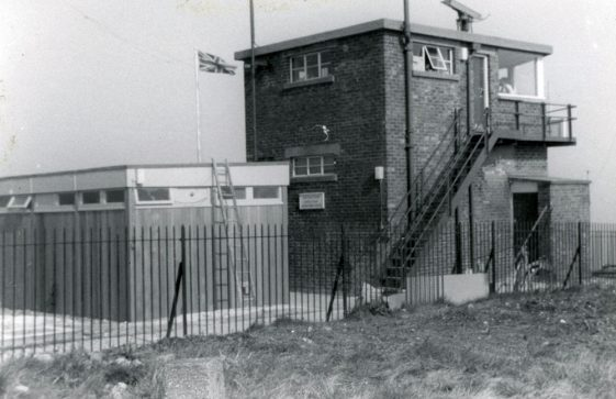 Coastguard Station, Leathercote Point 1974