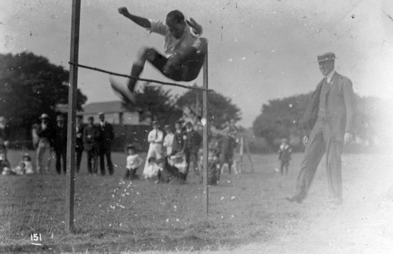 High Jump at St Margaret's Sports Day. 1911