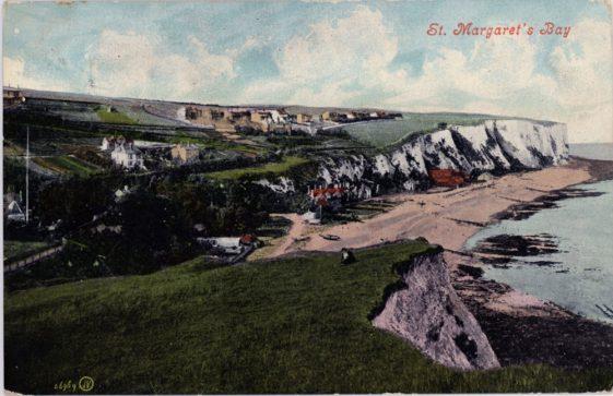 St Margaret's Bay from Ness Point. postmark 1909