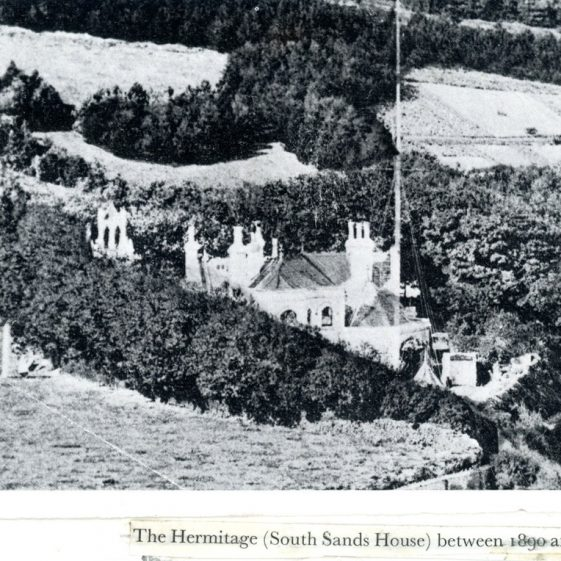 The Hermitage, Bay Hill (later renamed South Sands House)