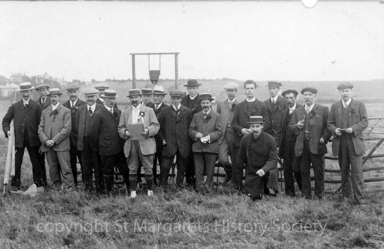 Officials at St Margaret's Sports Days. 1910