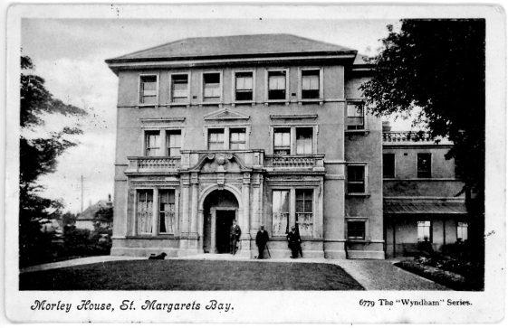 'Morley House, St. Margaret's Bay'. postmarked 1905