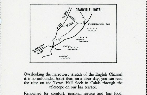 Advertisement for Granville Hotel, Hotel Road. 1974