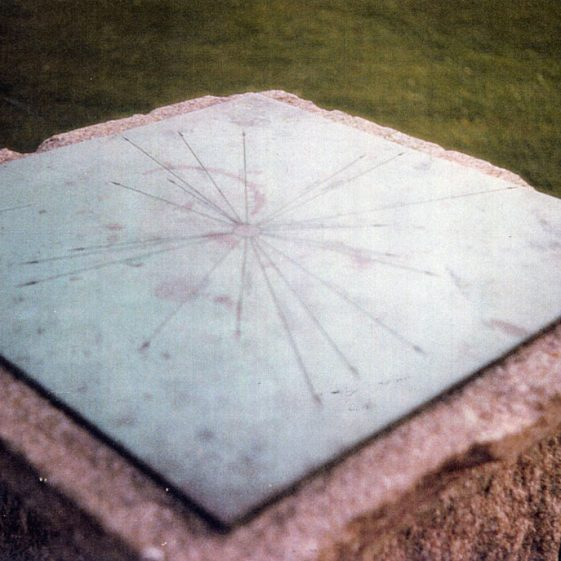 The Madge Memorial, Bay Hill showing damage caused by vandals . 12 December 1986