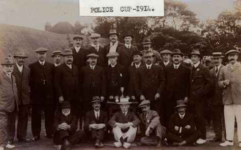 Bowls Club and the Police Cup 1914