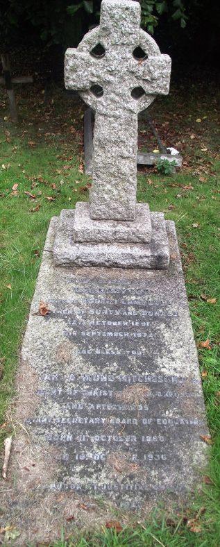 Gravestone of CAMPBELL Ilse Mary Ley 1972; MITCHESON Richard Edmund 1936 | Dawn Sedgwick