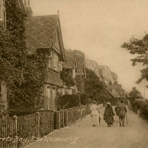 Adcock's Villas, St. Margaret's Bay. postmark 1920