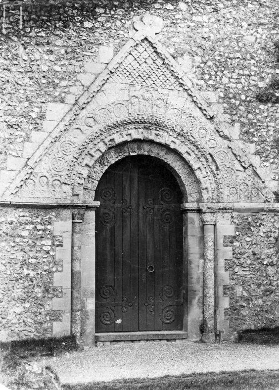 West doorway of St Margaret's Church