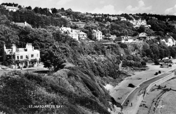 St Margaret's Bay from Ness Point. 1950s