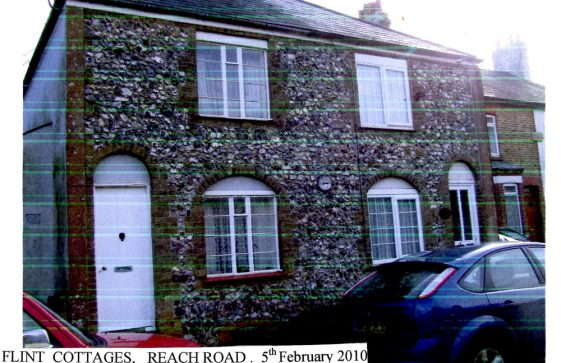 Flint Cottages, Reach Road. 2010