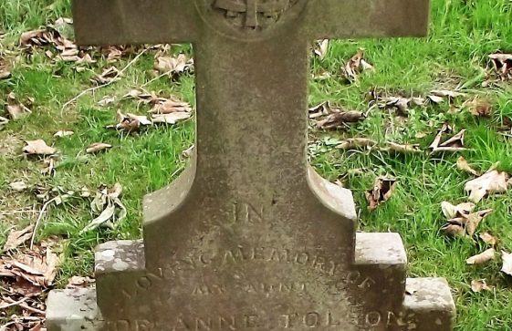 Gravestone of TOLSON Zoe Ann 1952