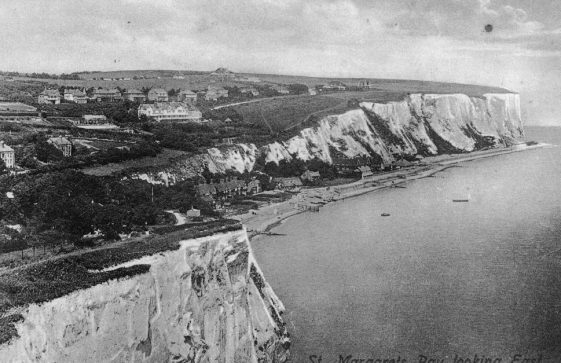 St Margaret's Bay from Ness Point. pre 1914