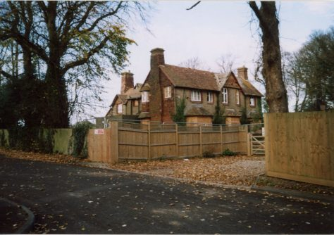 Old Vicarage, Vicarage Lane, prior to demolition.  2007