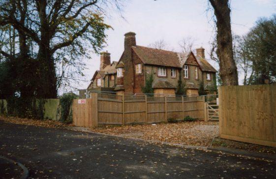 Old Vicarage, Vicarage Lane, prior to demolition.  2007