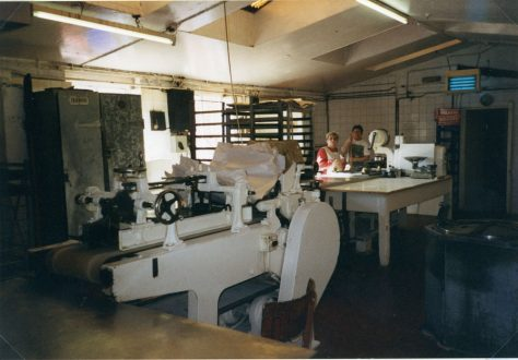 Interior of Watson's Bakery, Kingsdown Road. March 1995