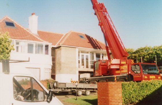 East Cottage, Granville Road, building works. 2005