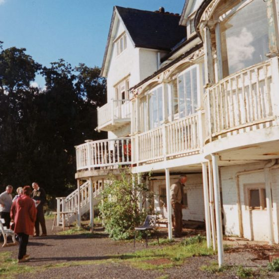 Granville Hotel, Hotel Road: Auction Viewing Day. 28th October 1994