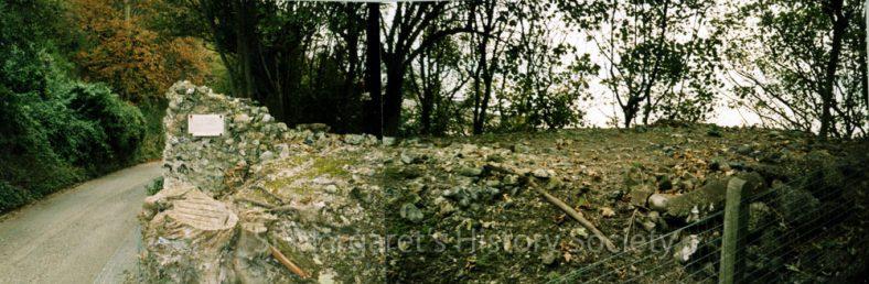 Napoleonic defence wall, Bay Hill. 2007