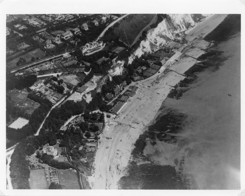 Aerial view of St Margaret's Bay. c1930