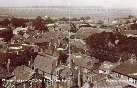From St Margaret's church tower towards Nelson Park. c1930