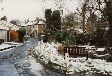 Chapel Lane in Winter. 2005