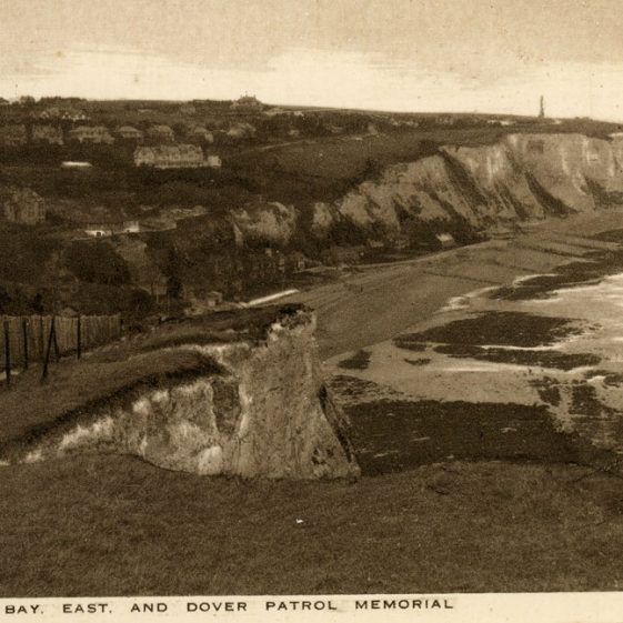 Booklet containing postcards of St Margaret's at Cliffe sold by the Cliffe Hotel