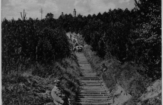 Long Steps up from the Bay. c1900