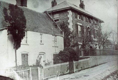 Arcadia Cottage and Cliffe House, High Street