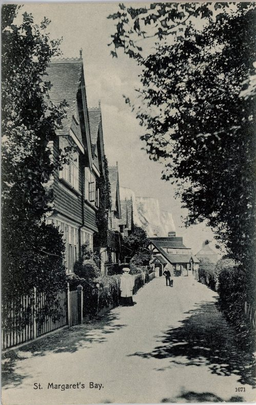 Adcock's Villas, St. Margaret's Bay. Dated 1907