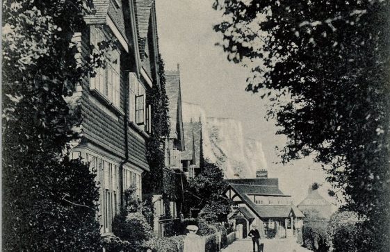 Adcock's Villas, St Margaret's Bay. Dated 1907