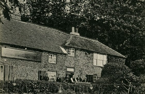 The Green Man, St Margaret's Bay from the garden. early 20th c