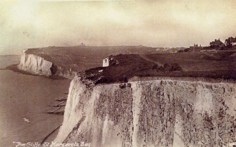 East Cliff and Ness Point from The Leas. c1920
