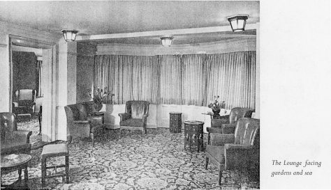 Granville Hotel, Hotel Road: Brochure extracts. Undated