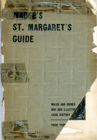 'St Margaret's Visitors Guide' by John Bavington Jones. nd, title pages - page 6
