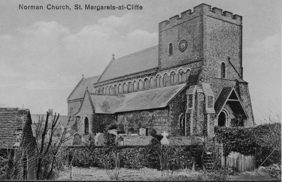 'Norman Church, St. Margaret's-at-Cliffe'