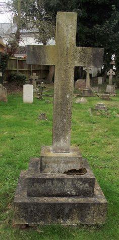 Gravestone of STAPLE Richard Theodore 1925