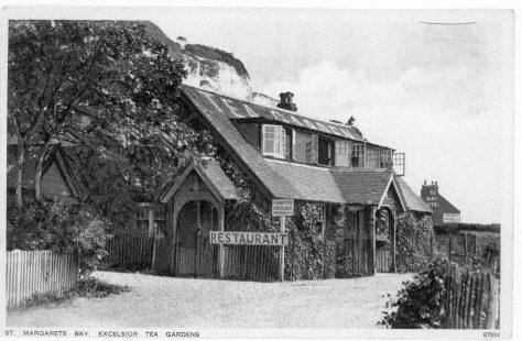 Excelsior Tea Gardens, St Margaret's Bay. postmarked 1938