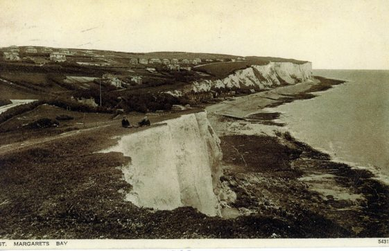 St Margaret's Bay from South Foreland. 1900-1905