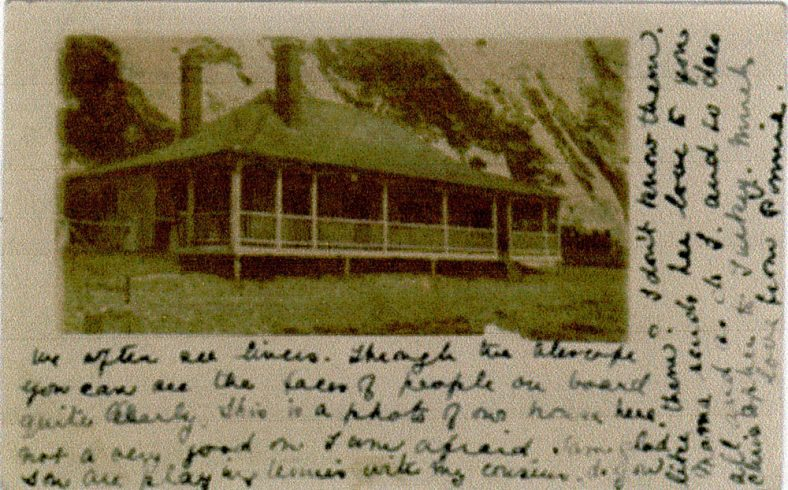 The Bungalow or Boathouse on St Margaret's Beach. c1908