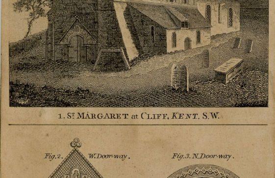 St Margaret's Church from 'The Gentleman's Magazine'. 1803 [?]