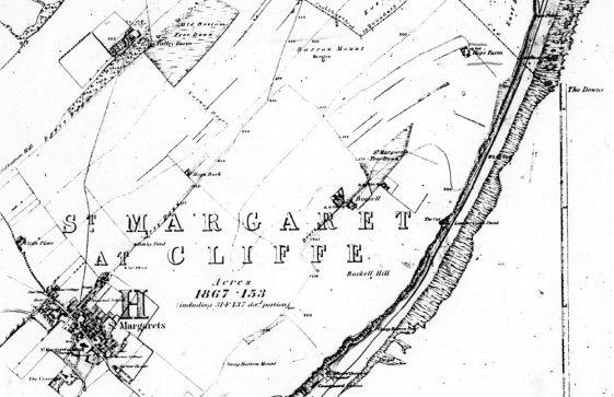 OS Map of Hope Farm 1876