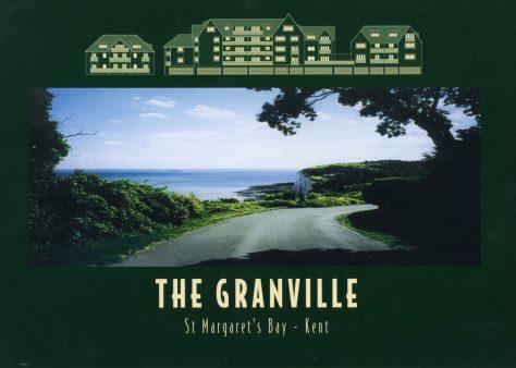 Granville Flats, Hotel Road - advertising brochure