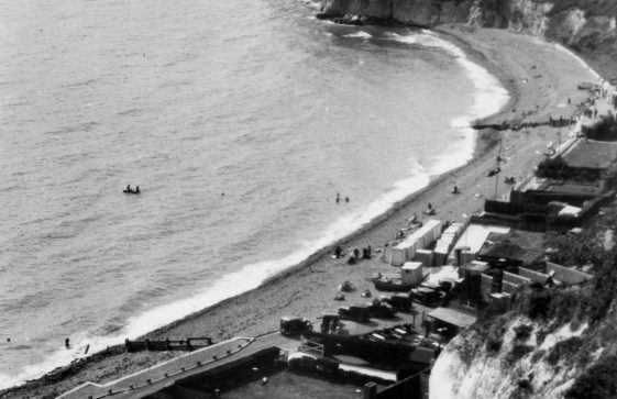 St Margaret's Bay from The Leas. c1928