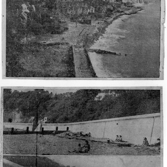 Concerns about the future of St Margaret's Bay in the immediate post WW2 years