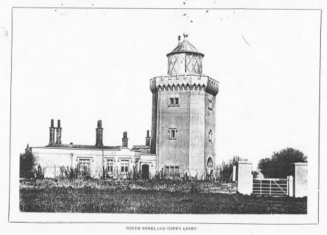 South Foreland Lighthouse.  c1900