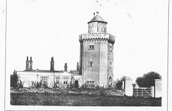 South Foreland Lighthouse.  c1900
