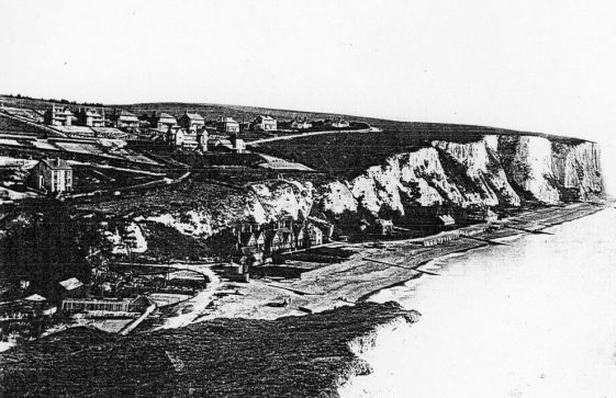 St Margaret's Bay from Ness Point.  pre 1900