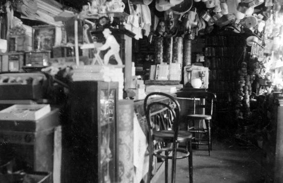 High Street, interior of Madge's Stores c.1900