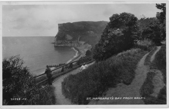 'St. Margaret's Bay from the Walks'. 1948