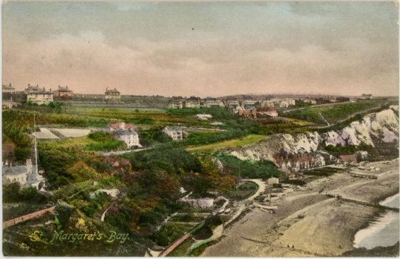 St Margaret's Bay from Ness Point. 1903